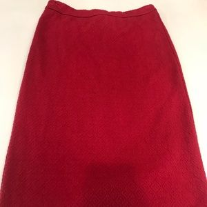Anthropologie Maeve pencil skirt pink size M